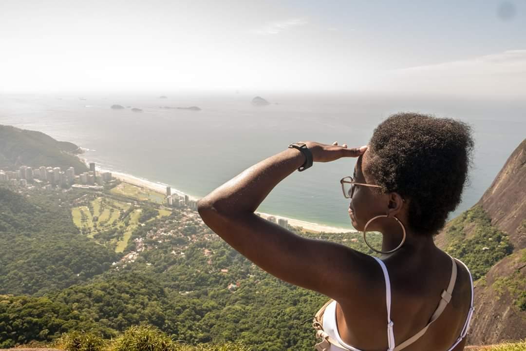 Vue de Rio depuis rando Pedra Bonita